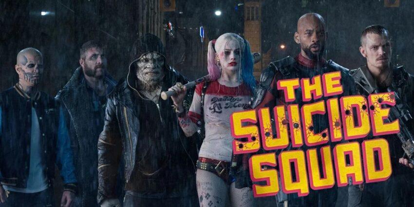 The Suicide Squad eski ekip yeni logo