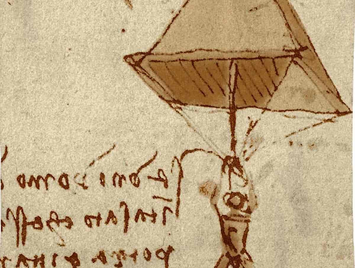 Leonardo da Vinci Paraşüt