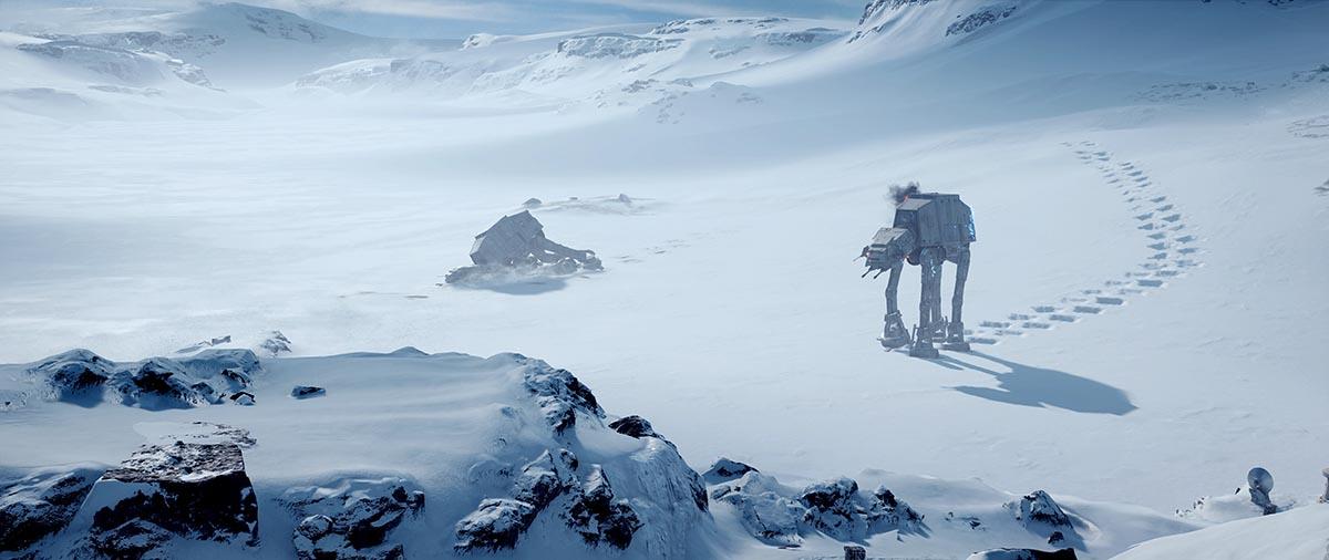 Star Wars HOTH Gezegeni