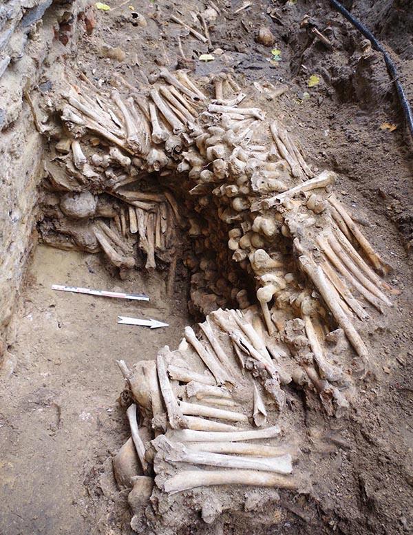 insan kemikleri kilise keşif