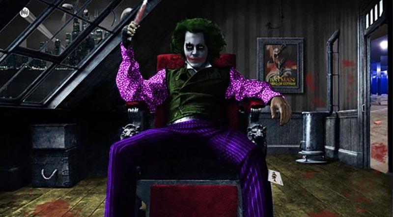 johnny depp the batman joker