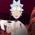 Rick and Morty Anime Samurai & Shogun