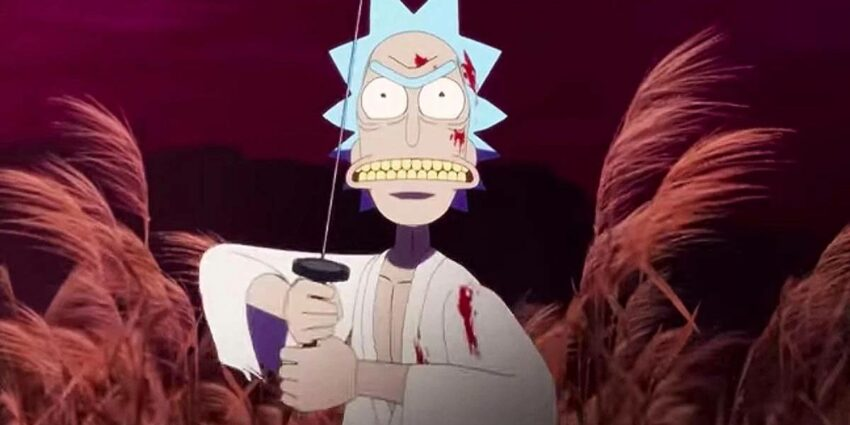 Rick and Morty Anime Samurai & Shogun