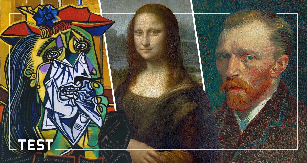 Ünlü Tablolarının Ressamlarını Ne Kadar Tanıyorsunuz? [TEST]
