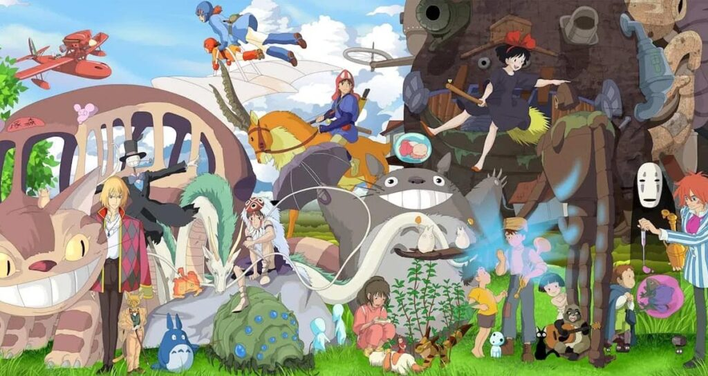 Studio Ghibli Netflix Hayao Miyazaki