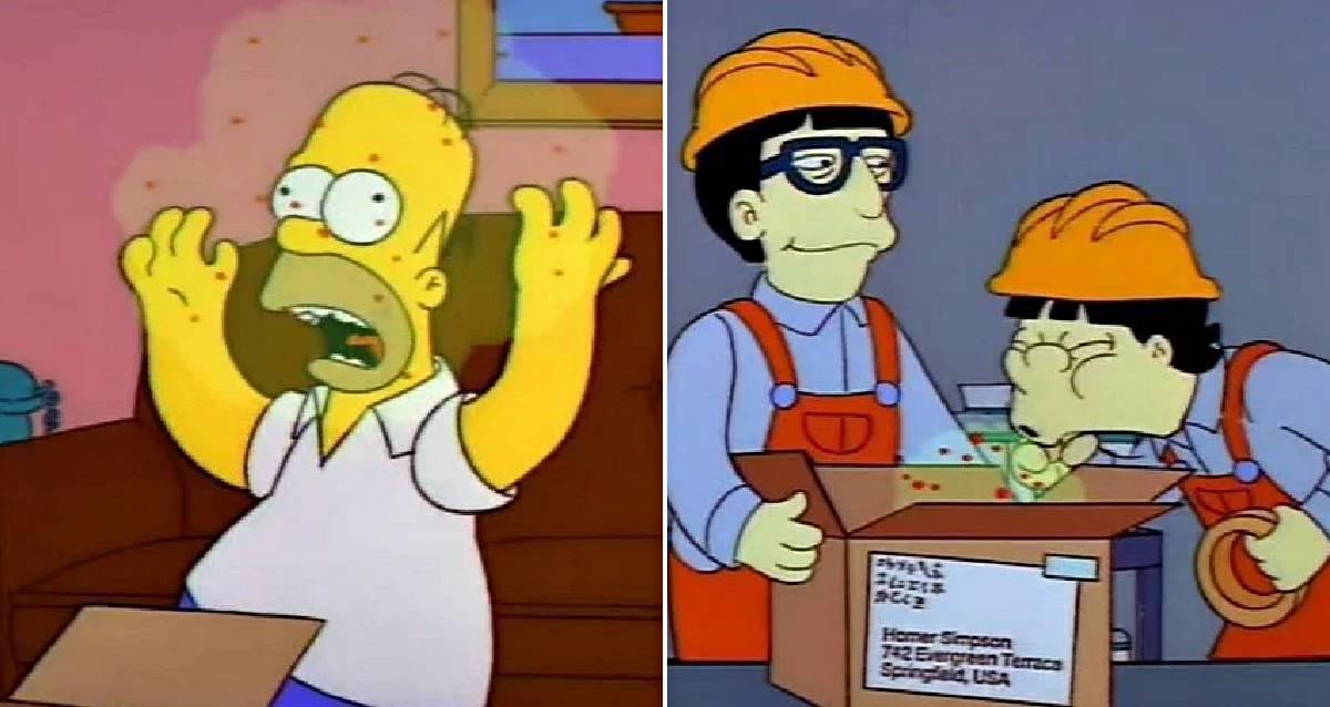 The Simpsons Corona Virüsü
