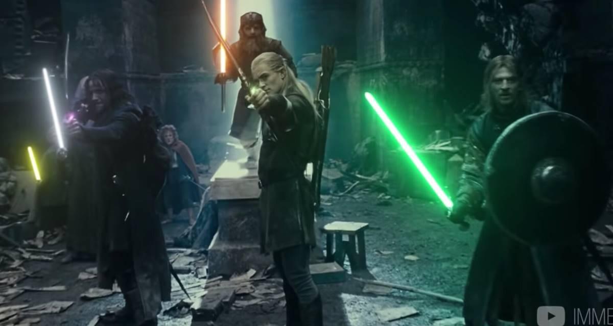 Yüzüklerin Efendisi Star Wars Işın Kılıcı
