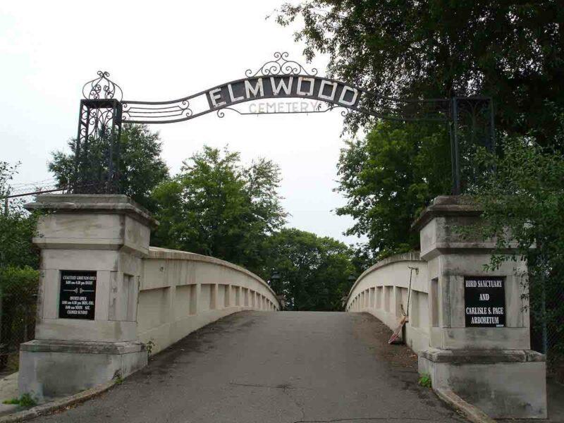 Elmwood Mezarlığı –Memphis, Tennessee