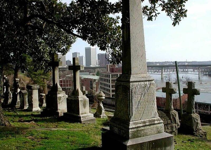 Hollywood Mezarlığı –Richmond, Virginia