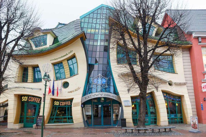 Çarpık Ev Avrupa Mimarisi