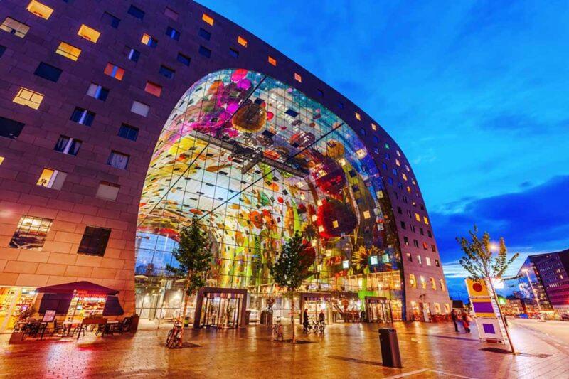 Markthal Avrupa Mimarisi