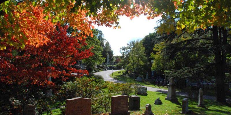 Mount Auburn Mezarlığı –Cambridge, Massachusetts