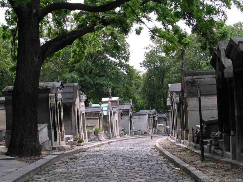 Pére Lachaise Mezarlığı- Paris, Fransa
