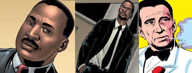 Luther King, Malcolm X ve Humphrey Bogart