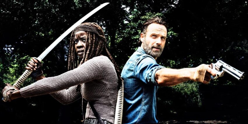 The Walking Dead 10. Sezon Rick Grimes film
