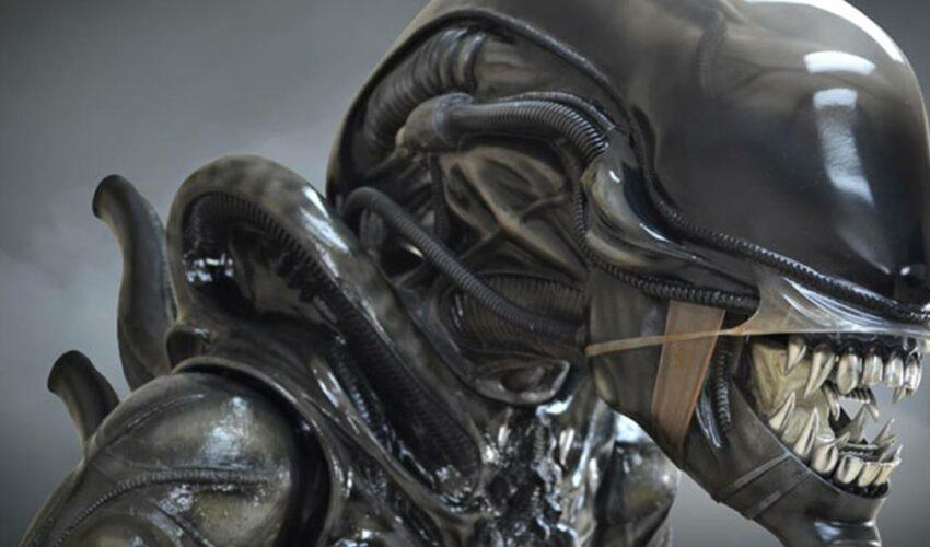 Alien Xenomorph Heykeli