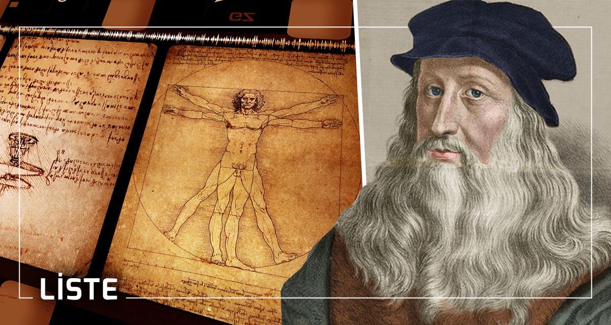 Leonardo da Vinci İcatları Buluşları