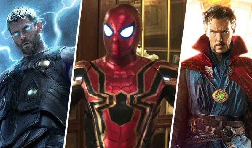 Spider-Man 3 Doctor Strange 2 Thor: Love and Thunder