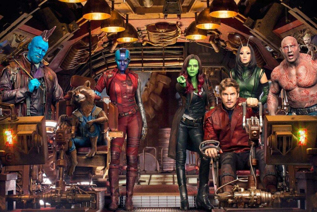 guardians of the galaxy 3 ekip