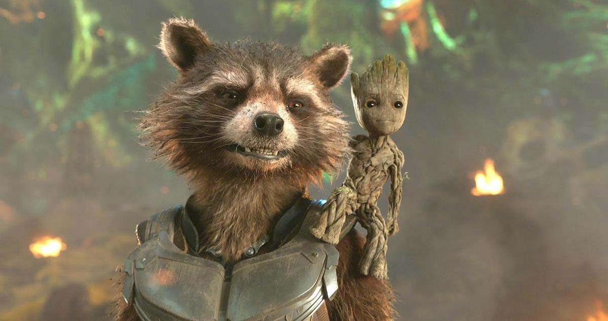 Guardians of the Galaxy 3 Rocket Raccoon
