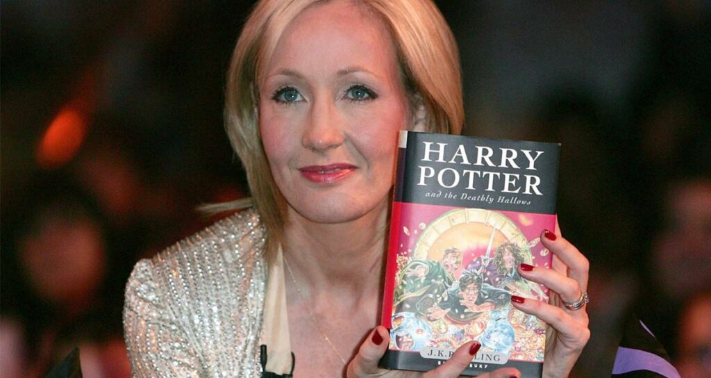 J.K. Rowling Bağış Harry Potter