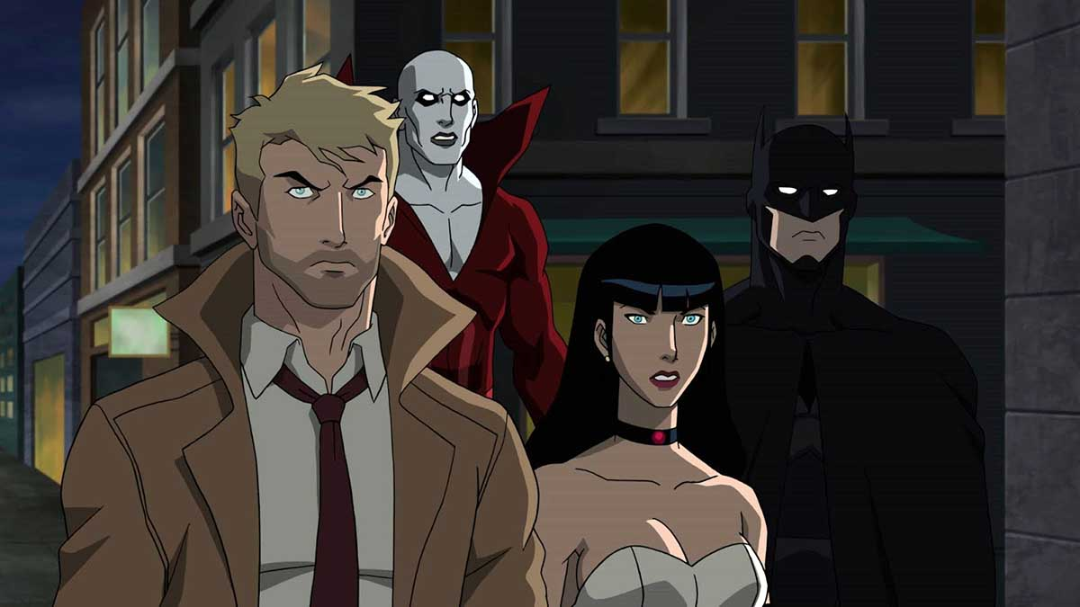 justice league dark hbo max