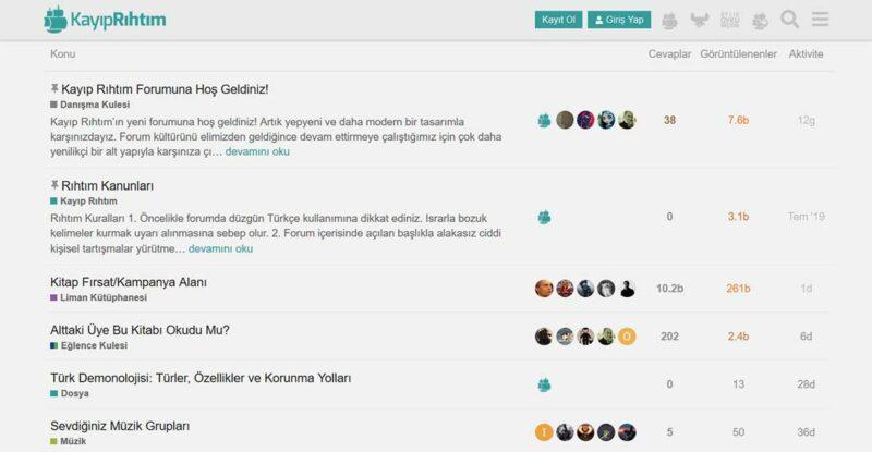 Kayıp Rıhtım Forum