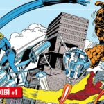 Fantastic Four Stan Lee ve Jack Kirby Marvel Klasikleri #1