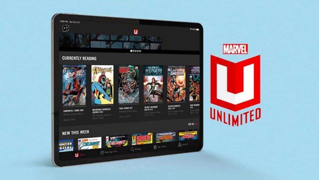 Marvel Unlimited ücretsiz çizgi roman