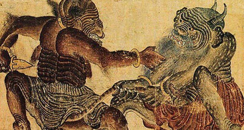 Türk Demonolojisi kötü ruhlar