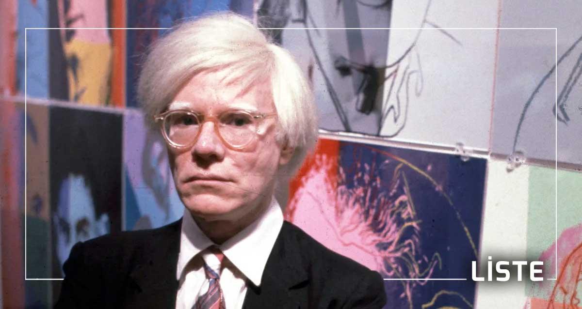 Andy Warhol liste