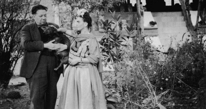 Diego Rivera ve Frida Kahlo evlilik