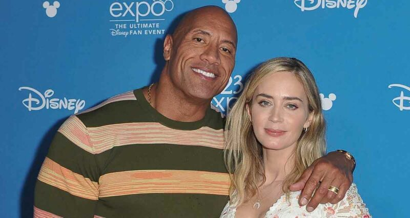 Dwayne Johnson ve Emily Blunt Ball and Chain