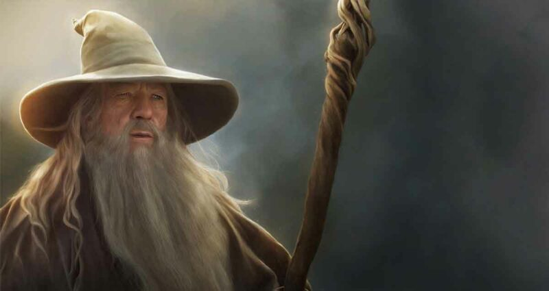 Gandalf yüzüklerin efendisi