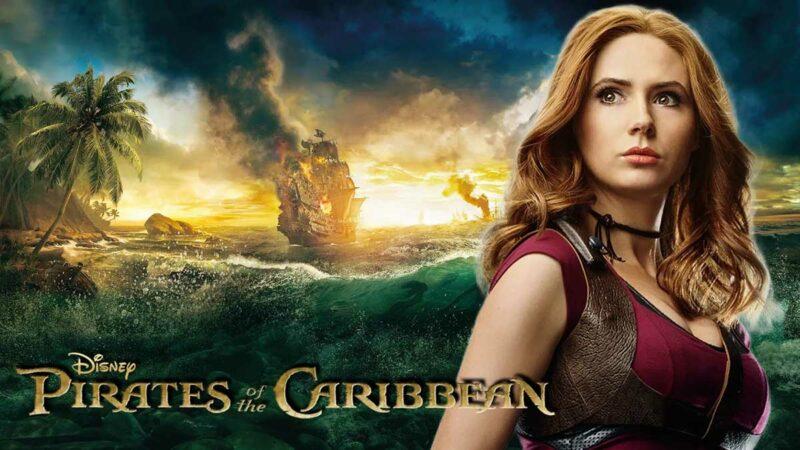 Karayip Korsanları Pirates of the Caribbean Karen Gillan