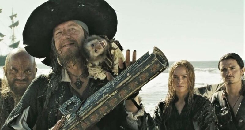Pirates Of The Caribbean Hector Barbossa