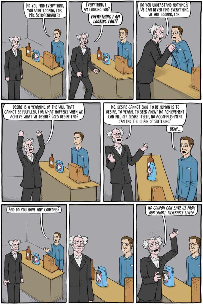 Schopenhauer karkikatür