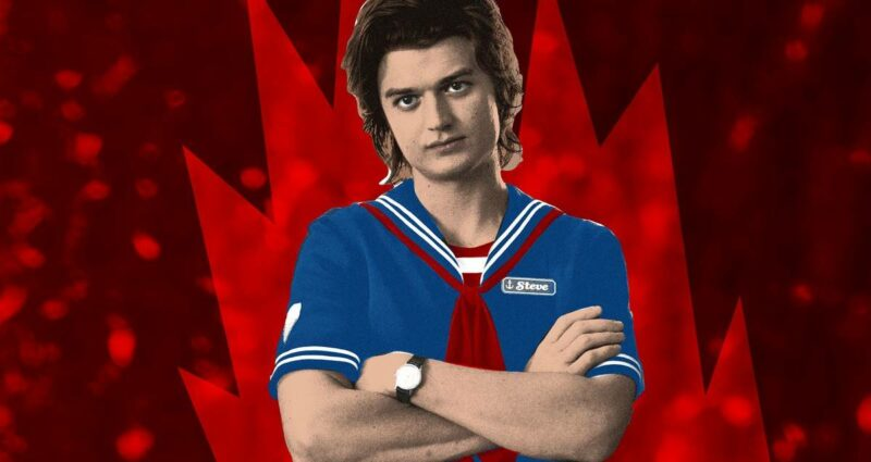 Stranger Things 4. Sezon - Steve Harrington - Joe Keery