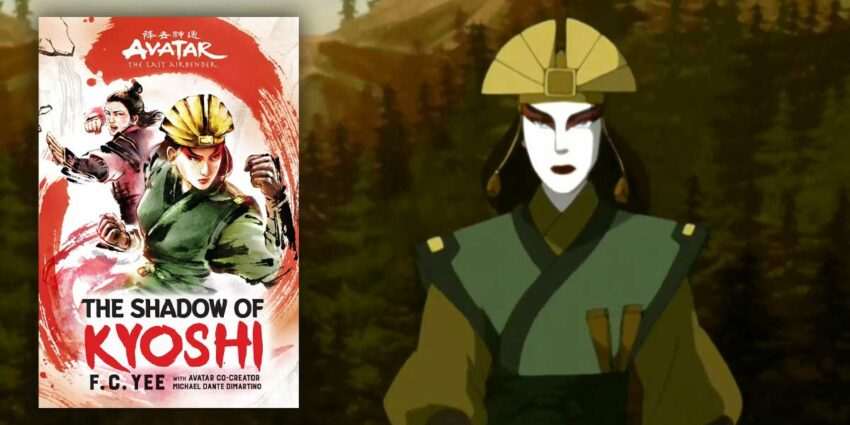 Avatar: The Shadow of Kyoshi Kitap