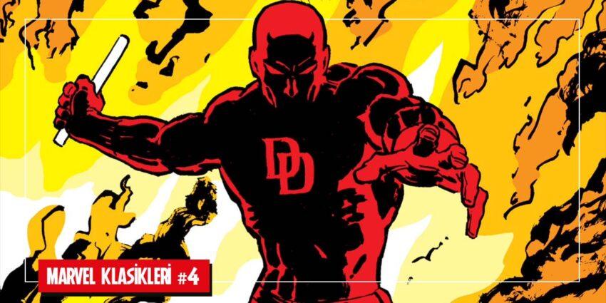 Frank Miller Daredevil Çizgi Roman Günlükleri