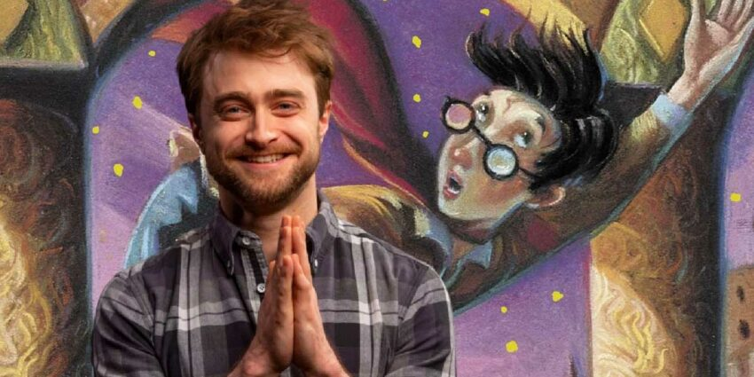 harry potter at home daniel radcliffe