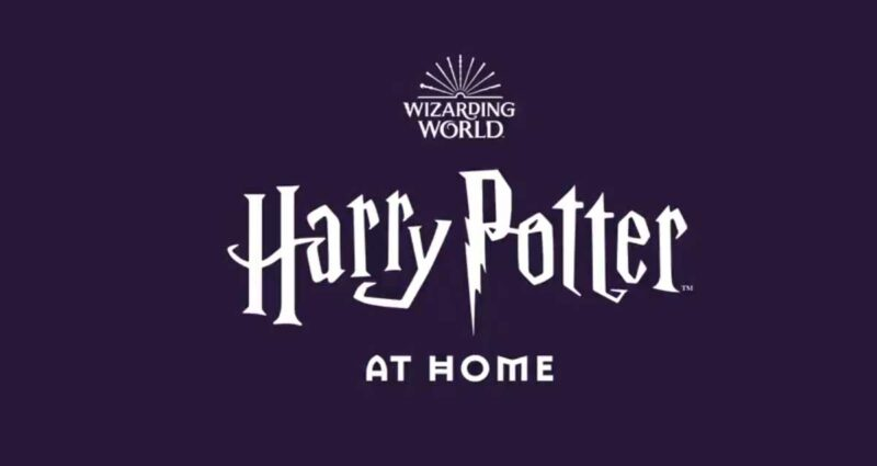 harry potter at home logo