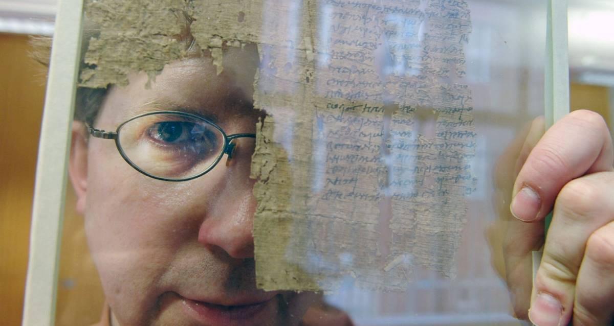 Papirüs İncil Dirk Obbink