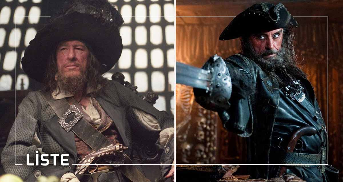 Karayip Korsanları Kötü Karakterleri Pirates of the Caribbean