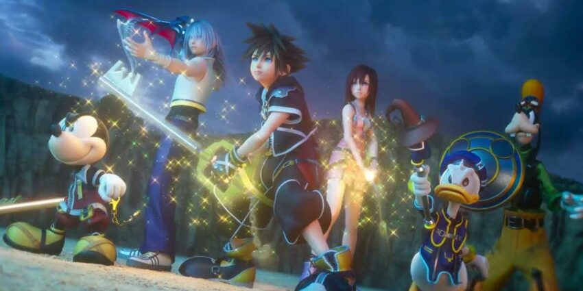 kingdom hearts dizi