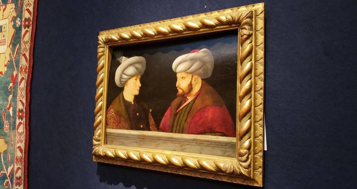 Gentile Bellini Fatih Sultan Mehmet Portresi İBB