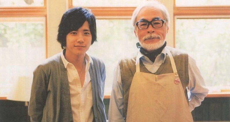 Yeni Studio Ghibli Filmi   Goro ve Hayao Miyazaki