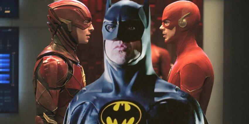 Michael Keaton The Flash Batman