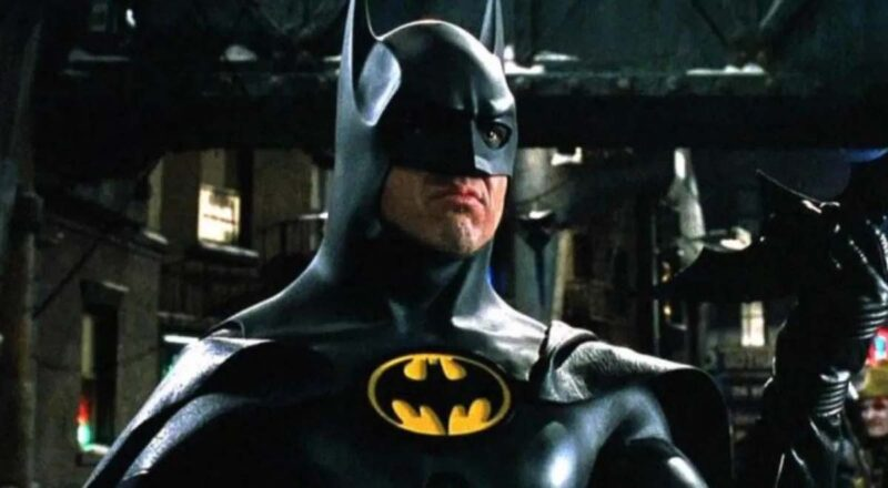 Michael Keaton Batman The Flash film