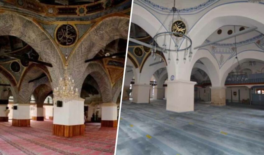 Nasrullah Cami restorasyon